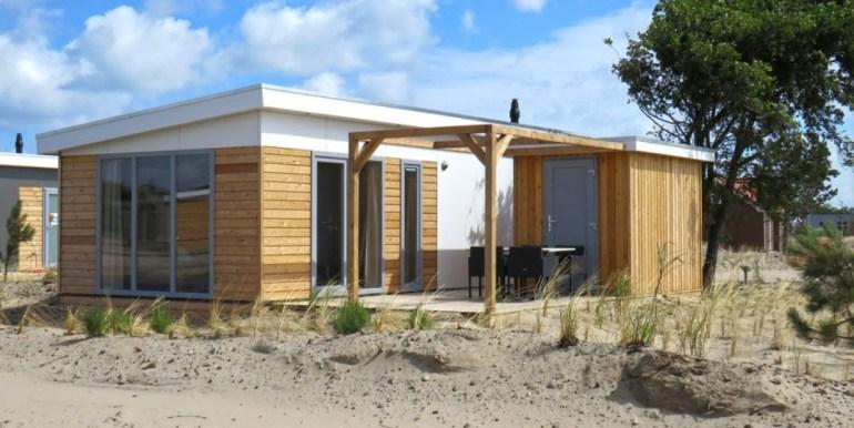 4-persoons luxe chalet op vakantiepark Boomhiemke Ameland