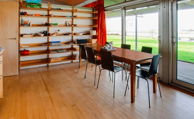 Vrijstaande watervilla in Friesland aan het water met sauna 09