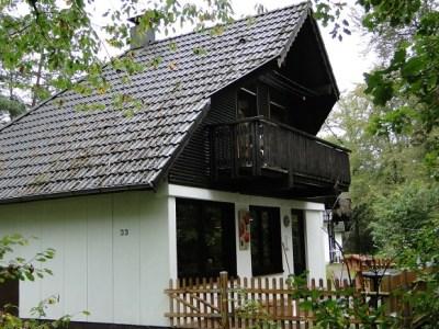 Ons Heksenhuisje in Frankenau met terras