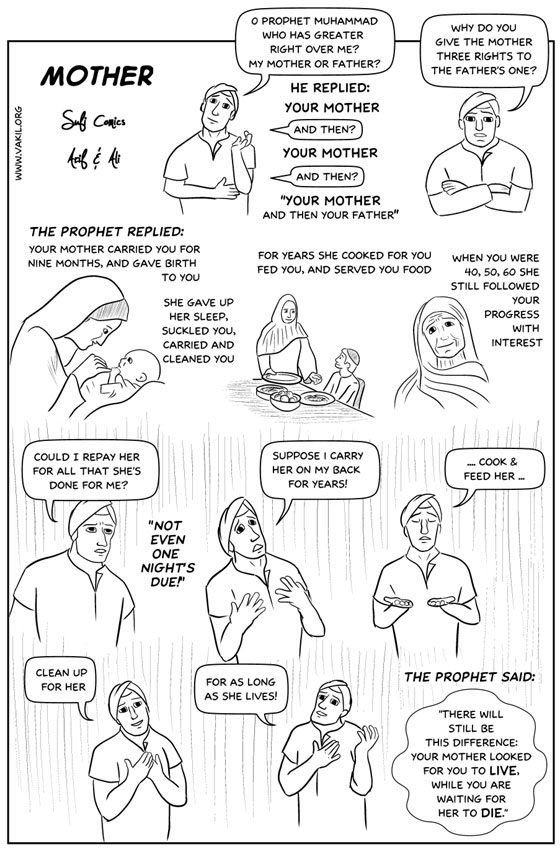 Sufi Comics: Mother