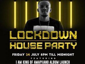 Kabza De Small – Lockdown Houseparty (24 July 2020) Amapiano