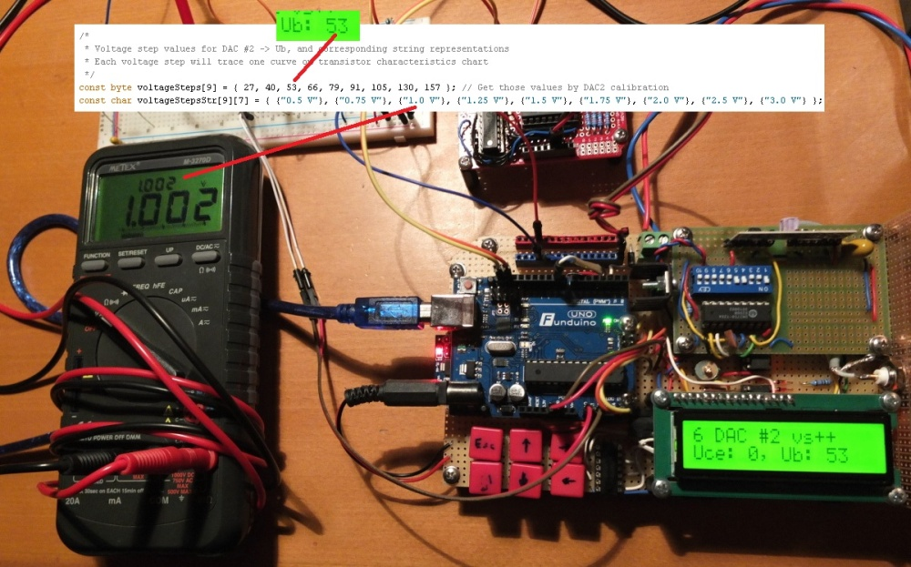 Build A Simple Transistor Curve Tracer Using An Arduino And Processing