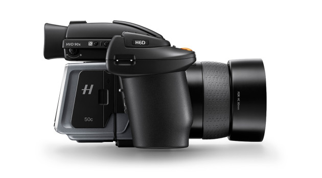 Hasselblad H6D right side