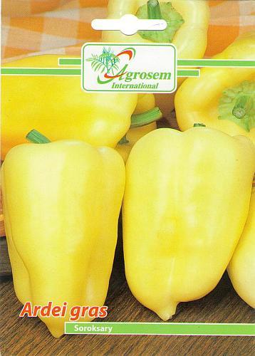 Seminte legume - Ardei Gras Soroksary