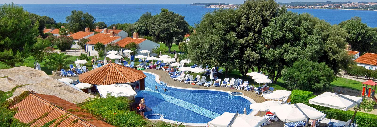 Einrichtungen  Valamar Tamaris Villas Pore Kroatien
