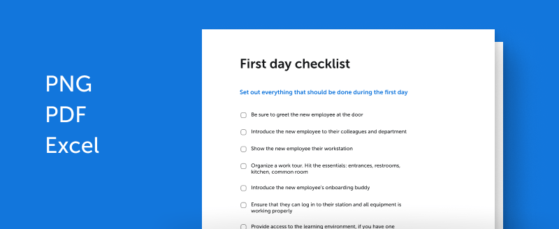 Most support dei, but don't know how to implement it. New Hire Onboarding Checklist 4 Excel Templates 2021