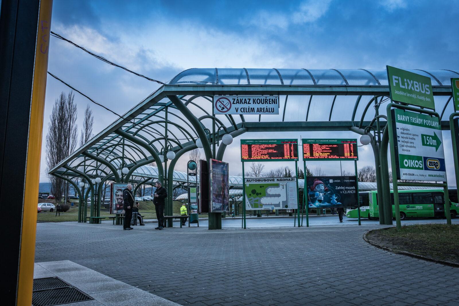 Autobusové nádraží Liberec
