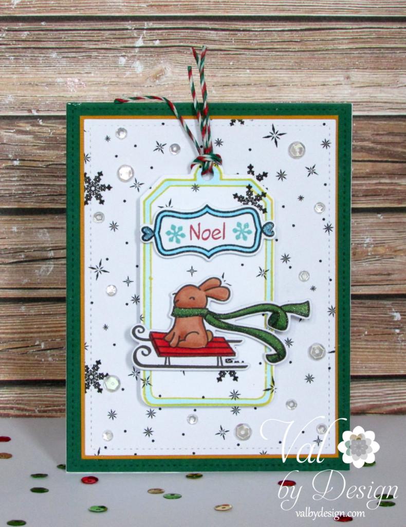 Noel Christmas Card Set ValByDesign