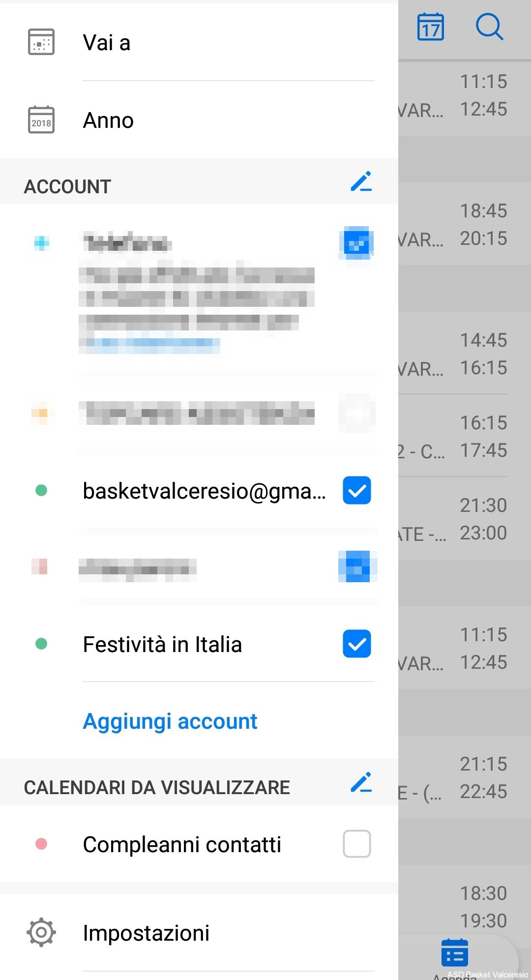 Esempio Calendario.Come Usare Il Calendario Web Su Dispositivi Mobili
