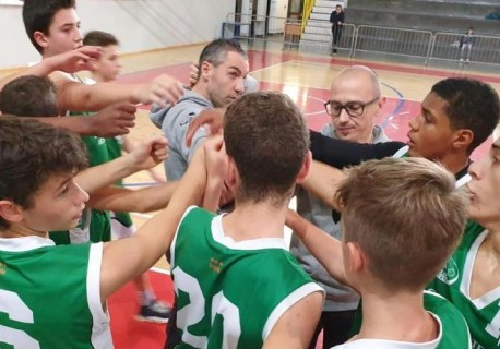 4° GIORNATA TOP3: MILANO3 VS U15 = 59-54