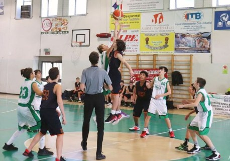 5° GIORNATA BRONZE1: U14 VS CEVES VEDANO = 84-52