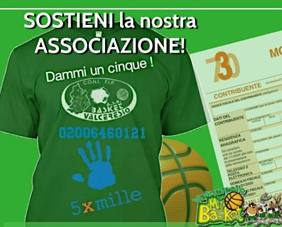 5 x Mille – Sostieni la nostra Associazione!