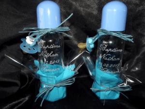 biberons en verre bebisol gravure baptème