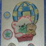 carte de félicitations naissance nounours,beuvry la foret