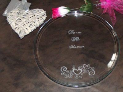 assiette-de-table-gravure-maman-prénom-beuvry-la-foret