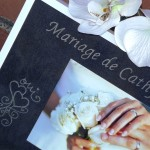 cadre en verre photo gravure mariage prénoms date motif