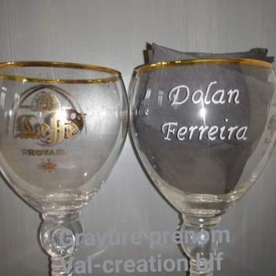 verre-leffe-royal-prenom-gravure