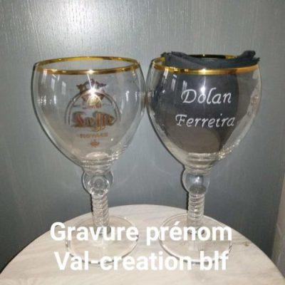 gravure-verre-leffe-calice-royal-valcreationbeuvrylaforet