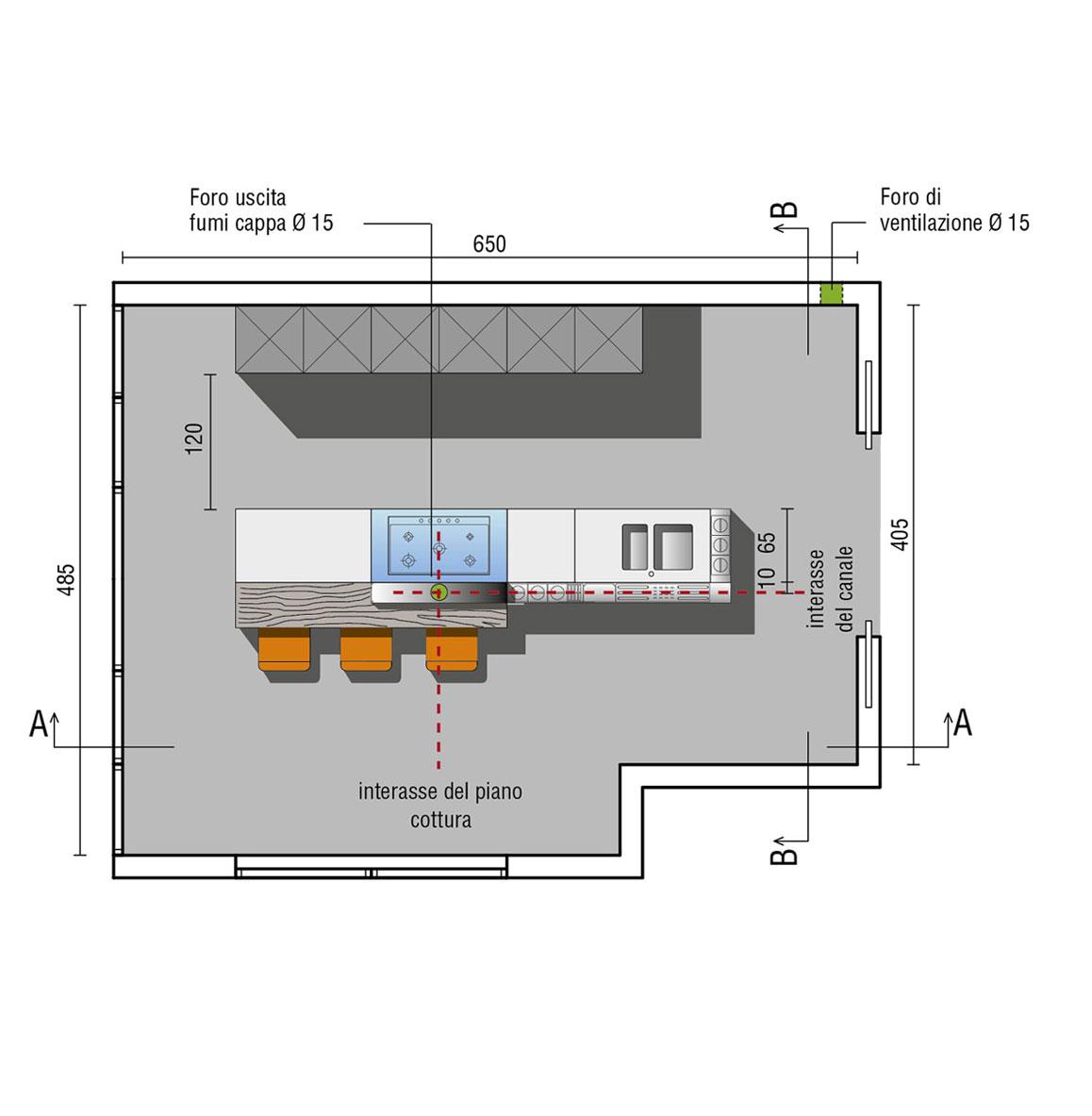 Cucine con Isola  Design  Valcucine