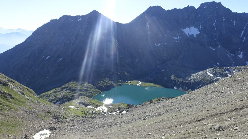 lac laures d'en bas et bivouac Ménabréaz