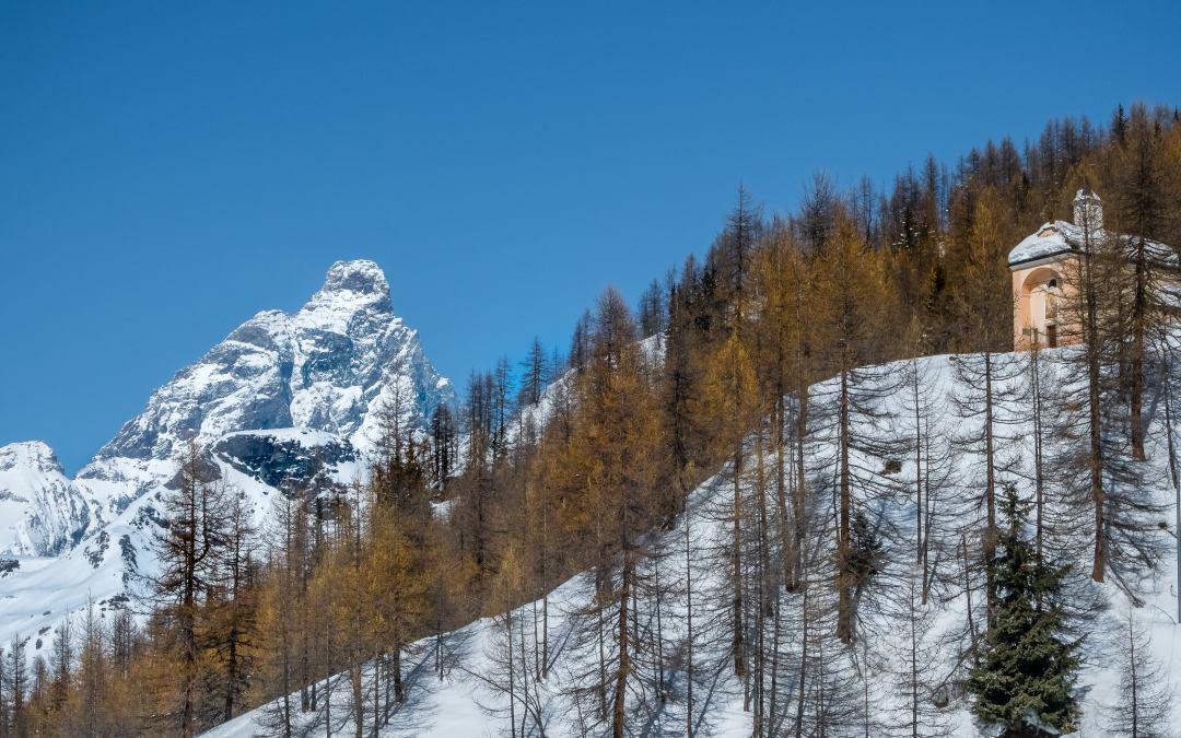 Ski dans la vallée de Valtournenche