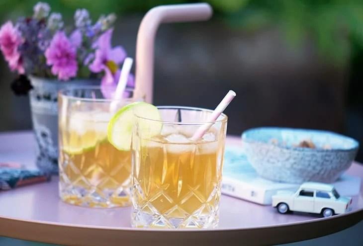 Dark 'n' Stormy - Opskrift på den lækre cocktail med gingerbeer og rom