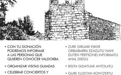 ¿Nos ayudas a seguir trabajando por Valdorba?