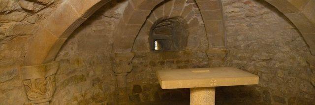 cripta de Orísoain