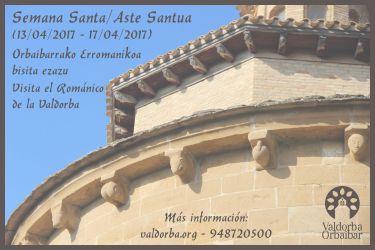 En Semana Santa visita el Románico de la Valdorba