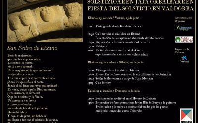 Fiesta del Solsticio en Etxano