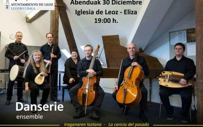 Concierto estreno de Danserie en la iglesia románica de Leoz