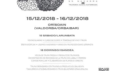 Feria de la Trufa en Navarra 2018