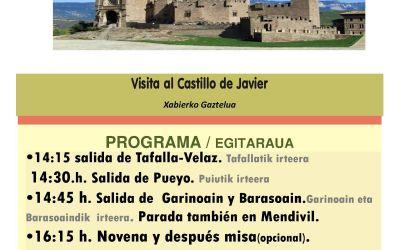Excursión a Javier – 7 de marzo de 2019