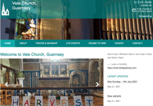 New church website picture