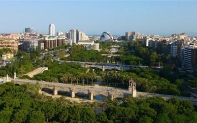 El mejor parque urbano de España está en Valencia: el Jardín del antiguo cauce del río Turia