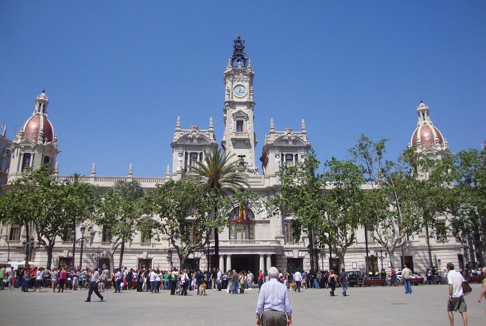 La plaza del Ayuntamiento de Valencia será peatonalizada