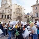 La Guerra de Almohadas más grande de España se traslada al próximo sábado 14 de abril