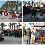 Mercado medieval y zoco árabe este fin de semana en el Paseo Marítimo de Valencia