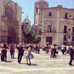 La plaza de la Virgen se llena este domingo 28 de mayo de tango
