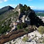 El precioso castillo y conjunto monumental de Xàtiva