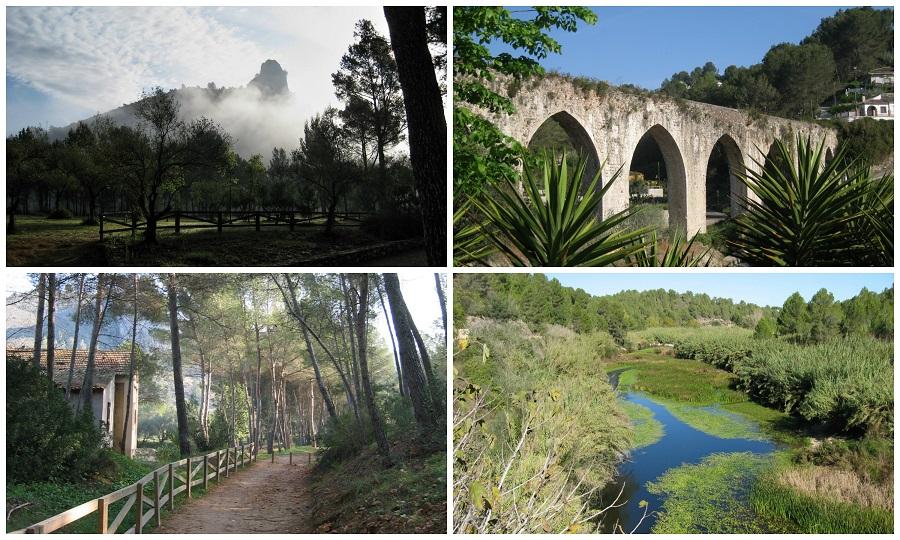 El espectacular paraje natural de la Cova Negra de Xàtiva