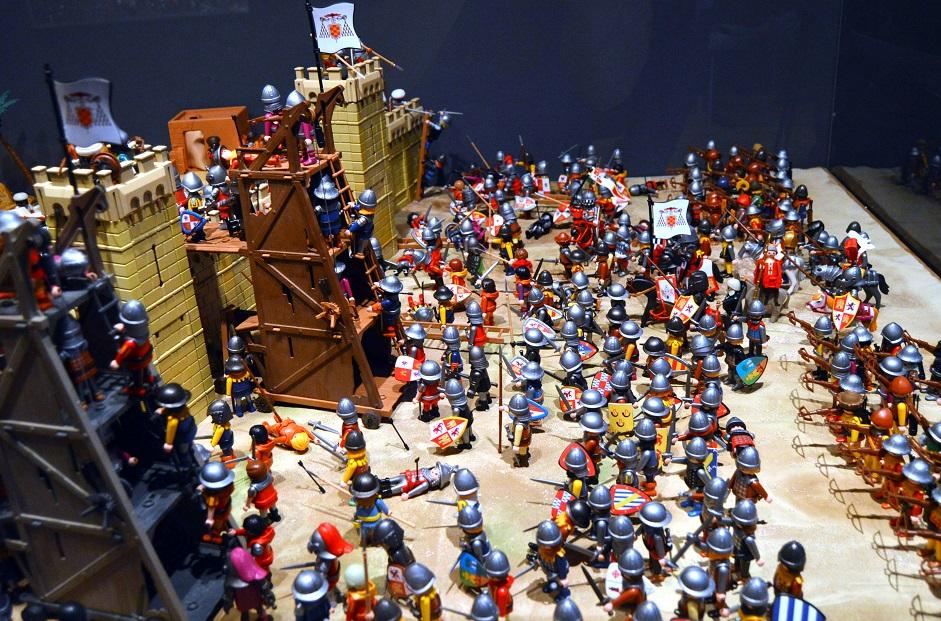 Una gran exposición con miles de clicks de Playmobil llega en Navidad a Benetússer