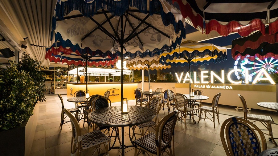 Palau Alameda recupera un edificio emblemático de Valencia para el ocio gastronómico y cultural