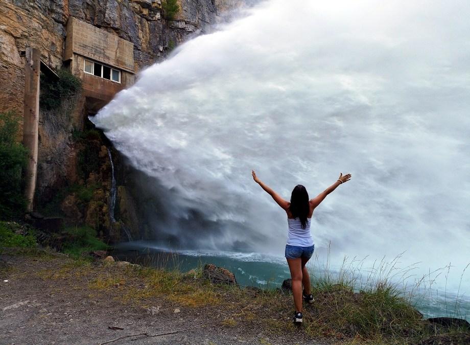El Chorro, el espectacular aliviadero del Embalse de Arenós