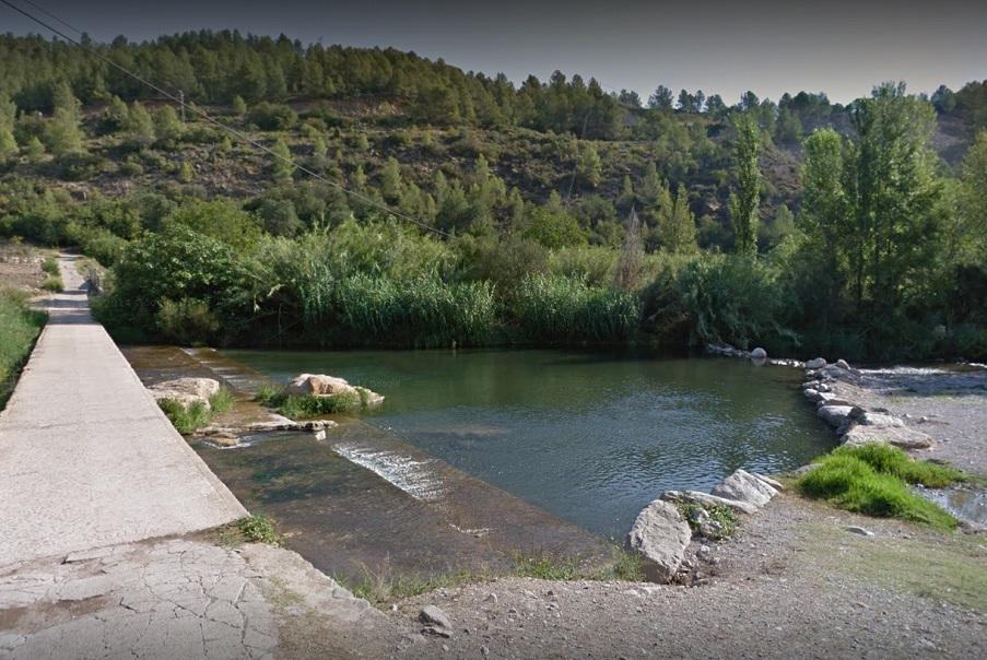 El Molino de Cirat, una zona de baño y ocio del río Mijares