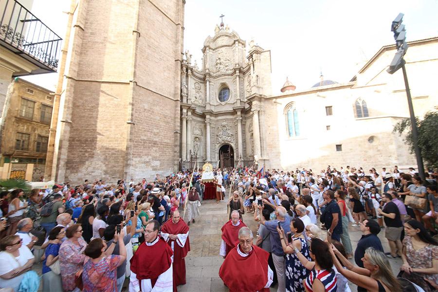 La Asunción de la Virgen, la procesión más antigua de Valencia que se celebra cada 15 de agosto