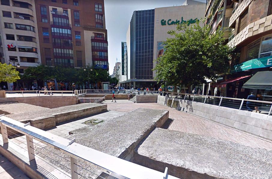 El Portal dels Jueus, los restos de una de las doce puertas de la muralla cristiana de Valencia