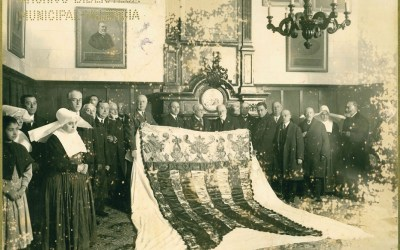 ¿Sabías que La Beneficència restauró la Real Senyera original de 1545?
