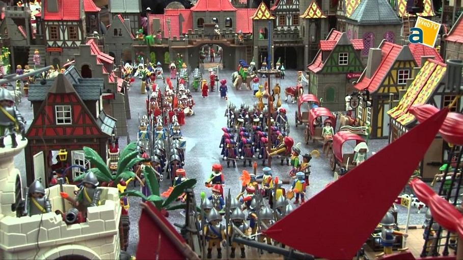 Torrent acoge la exposición de Playmobil más grande de la historia en la Comunidad Valenciana