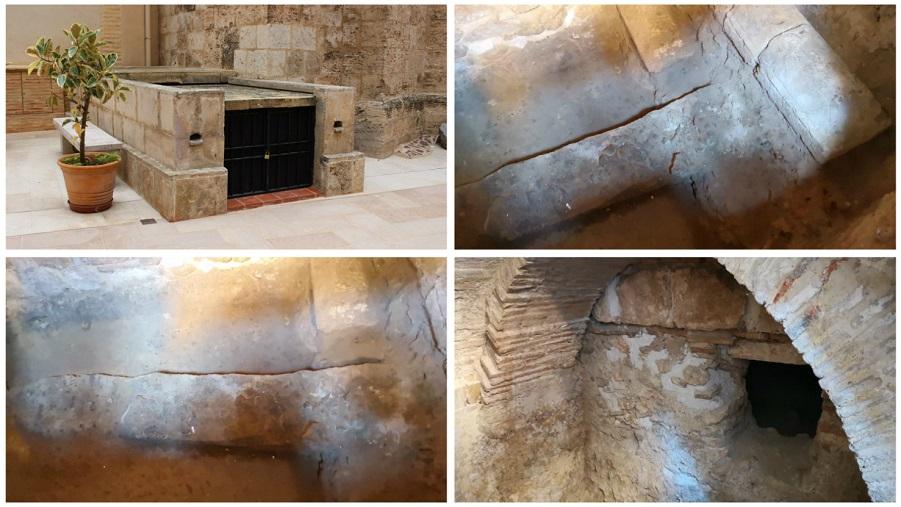 La espina del circo romano de Valencia se abre al público y será visitable
